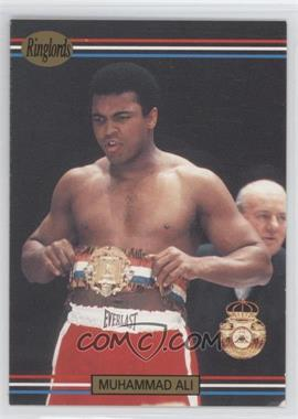 1991 Ringlords #40.2 - Muhammad Ali (Printed in the U.K.)