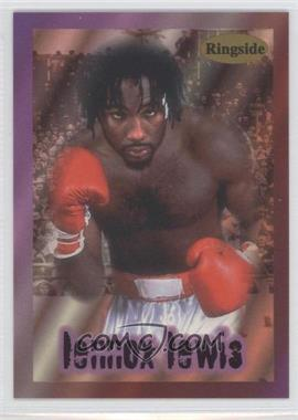 1996 Ringside - [Base] #1 - Lennox Lewis