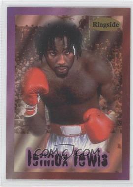1996 Ringside #1 - Lennox Lewis