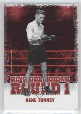 2010 Ringside Boxing Round 1 - [Base] #18 - Gene Tunney