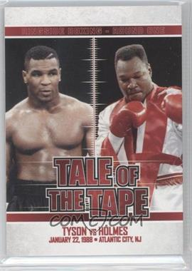 2010 Ringside Boxing Round 1 - [Base] #64 - Mike Tyson, Larry Holmes