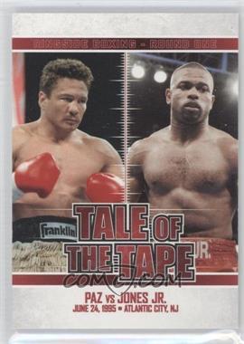 2010 Ringside Boxing Round 1 - [Base] #66 - Vinny Paz, Roy Jones Jr.