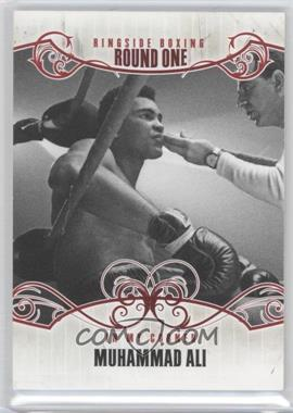 2010 Ringside Boxing Round 1 - [Base] #98 - Muhammad Ali