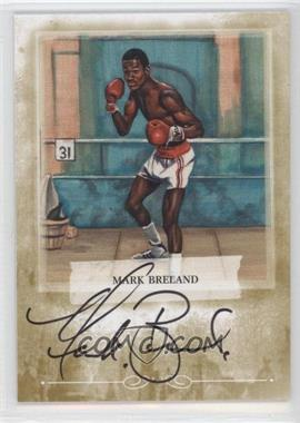 2010 Ringside Boxing Round 1 - Mecca Autographs - Gold #A-MB1 - Mark Breland