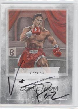 2010 Ringside Boxing Round 1 - Mecca Autographs - Silver #A-VP2 - Vinny Paz