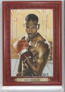 2010 Ringside Boxing Round 1 - Mecca Turkey Red #75 - Roy Jones Jr.