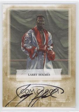 2010 Ringside Boxing Round 1 Autographs Gold #A-LH2 - Larry Holmes