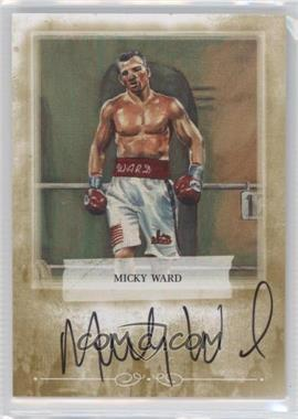 2010 Ringside Boxing Round 1 Autographs Gold #A-MW1 - Micky Ward
