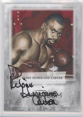 2010 Ringside Boxing Round 1 Autographs #A-2 - Rubin Hurricane Carter