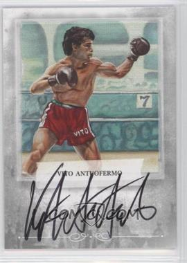 2010 Ringside Boxing Round 1 Autographs #A-VA2 - Vito Antuofermo