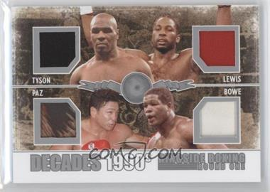 2010 Ringside Boxing Round 1 Decades Silver #D-03 - [Missing] /20