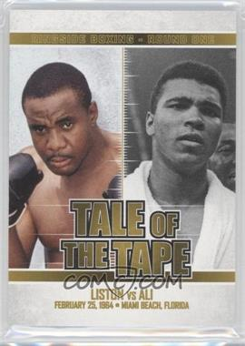 2010 Ringside Boxing Round 1 Gold #96 - Sonny Liston, Muhammad Ali