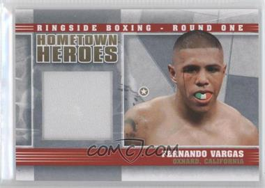 2010 Ringside Boxing Round 1 Hometown Heroes Gold #HH-01 - Fernando Vargas /10