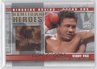 2010 Ringside Boxing Round 1 Hometown Heroes Gold #HH-10 - Vinny Paz /10