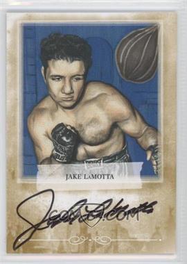 2010 Ringside Boxing Round 1 Mecca Autographs Gold #A-JL2 - Jake LaMotta