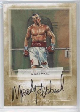2010 Ringside Boxing Round 1 Mecca Autographs Gold #A-MW1 - Micky Ward