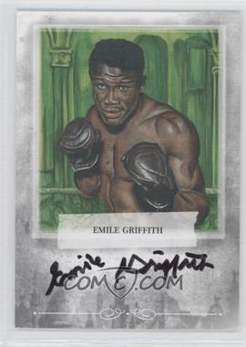2010 Ringside Boxing Round 1 Mecca Autographs Silver #A-EG2 - Emile Griffith