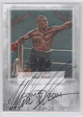 2010 Ringside Boxing Round 1 Mecca Autographs Silver #A-MT1 - Mike Tyson