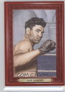 2010 Ringside Boxing Round 1 Mecca Turkey Red #34 - Jack Dempsey