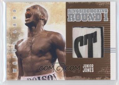 2010 Ringside Boxing Round 1 Waist Land Silver #AM-05 - Junior Jones /5