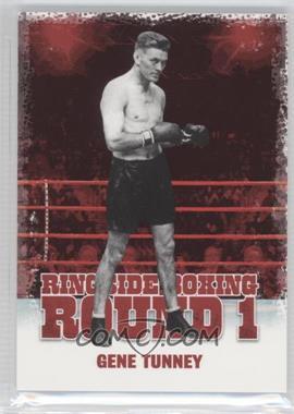2010 Ringside Boxing Round 1 #18 - Gene Tunney