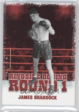 2010 Ringside Boxing Round 1 #26 - James Braddock