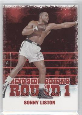 2010 Ringside Boxing Round 1 #46 - Sonny Liston
