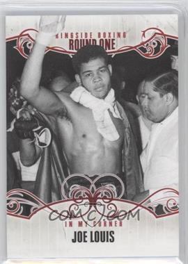 2010 Ringside Boxing Round 1 #75 - Joe Louis