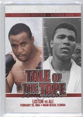 2010 Ringside Boxing Round 1 #96 - Sonny Liston, Muhammad Ali