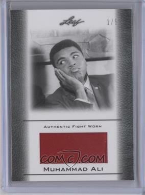 2011 Leaf Ali The Greatest - Fight Worn Memorabilia Swatch #FW-23 - Muhammad Ali /5