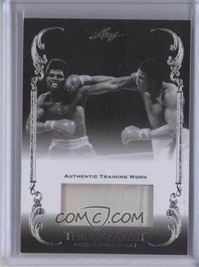 2011 Leaf Ali The Greatest - Training Worn Memorabilia Swatch #TW-40 - Muhammad Ali /5