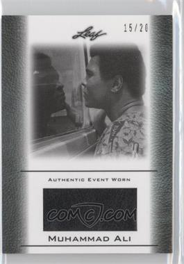 2011 Leaf Ali The Greatest Event Worn Memorabilia Swatch Silver #EW-14 - Muhammad Ali /20