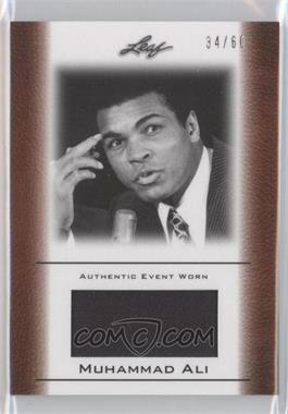 2011 Leaf Ali The Greatest Event Worn Memorabilia Swatch #EW-35 - Muhammad Ali /60