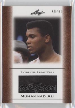 2011 Leaf Ali The Greatest Event Worn Memorabilia Swatch #EW-39 - Muhammad Ali /60