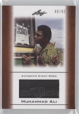 2011 Leaf Ali The Greatest Event Worn Memorabilia Swatch #EW-48 - [Missing] /60