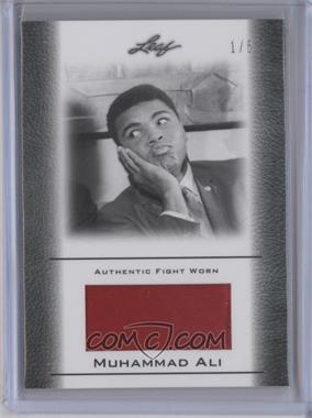 2011 Leaf Ali The Greatest Fight Worn Memorabilia Swatch #FW-23 - Muhammad Ali /5