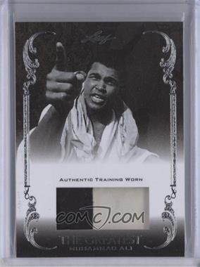 2011 Leaf Ali The Greatest Training Worn Memorabilia Swatch #TW-9 - Muhammad Ali /5