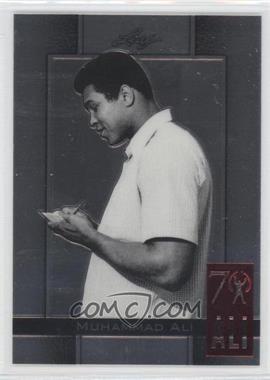 2011 Leaf Metal Ali - 70th Birthday Redemption - Double Embossed #7 - Muhammad Ali