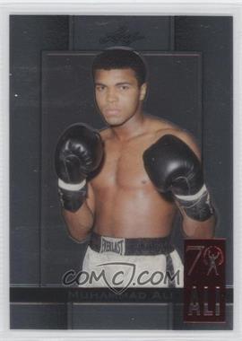 2011 Leaf Metal Ali - 70th Birthday Redemption - Double Embossed #73 - Muhammad Ali