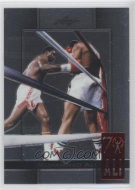 2011 Leaf Metal Ali 70th Birthday Redemption Double Embossed #34 - Muhammad Ali