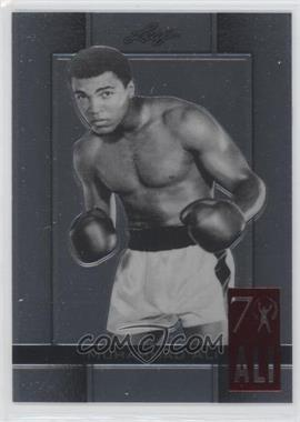2011 Leaf Metal Ali 70th Birthday Redemption Double Embossed #62 - Muhammad Ali
