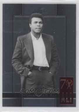 2011 Leaf Metal Ali 70th Birthday Redemption Double Embossed #65 - Muhammad Ali
