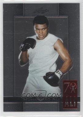 2011 Leaf Metal Ali 70th Birthday Redemption Double Embossed #72 - Muhammad Ali