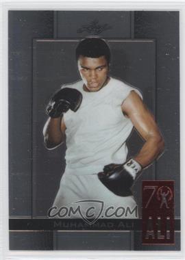 2011 Leaf Metal Ali 70th Birthday Redemption Double Embossed #72 - Muhammad Ali