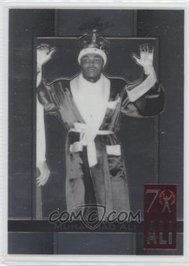 2011 Leaf Metal Ali 70th Birthday Redemption Double Embossed #74 - Muhammad Ali