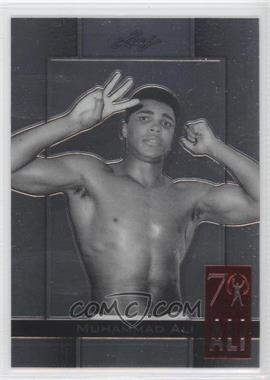 2011 Leaf Metal Ali 70th Birthday Redemption Double Embossed #85 - [Missing]