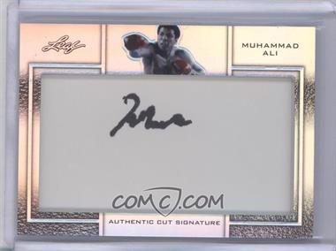 2011 Leaf Metal Ali Cut Signatures #CSM-4 - Muhammad Ali /20