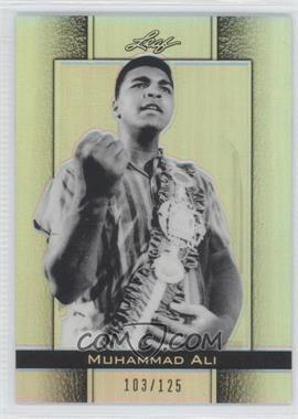 2011 Leaf Metal Muhammad Ali [???] #69 - Muhammad Ali /125