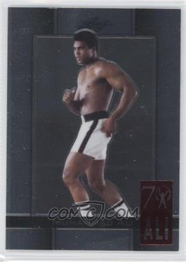 2011 Leaf Metal Muhammad Ali 70th Birthday Redemption Double Embossed #25 - [Missing]