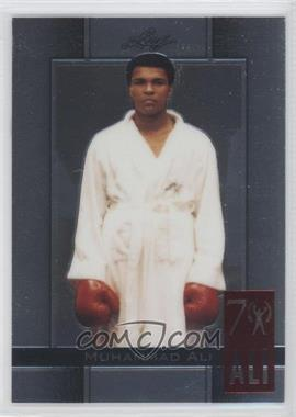 2011 Leaf Metal Muhammad Ali 70th Birthday Redemption Double Embossed #6 - [Missing]